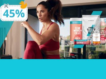 [Only at Saleduck!] โค้ดลับ Myprotein ลดเพิ่ม 45% ช้อปครบ..ส่งฟรีด้วย!